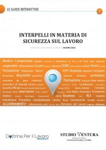 copertina INTERPELLI IN MATERIA DI SICUREZZA 2015-001